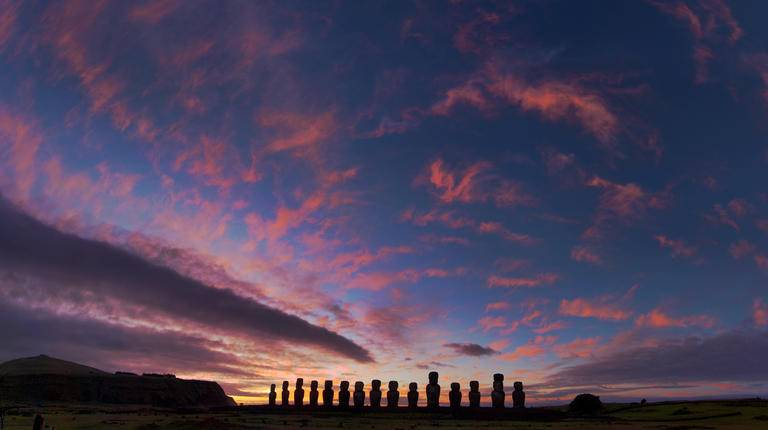 Sunrise, Easter Island
