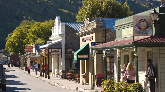 Historic Mining Town New Zealand