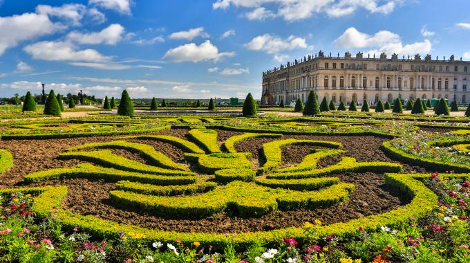 Biking the Gardens of Versailles