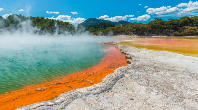 New Zealand Geothermal Pools