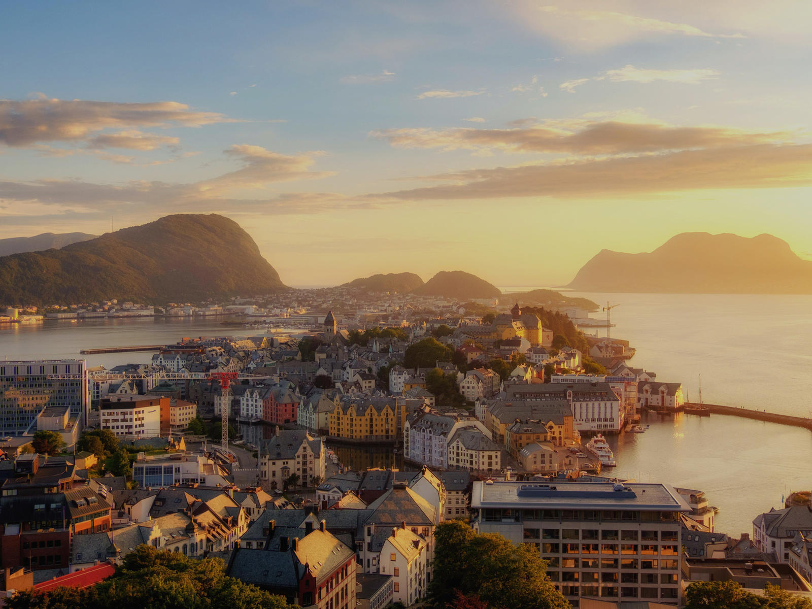 Alesund Norway City Landscape Trip Hero TCSBNF-20
