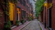 acorn street, boston, hero