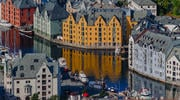 Alesund Norway City Houses Hero TCSBNF