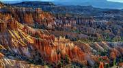 landscape view of Bryce canyon