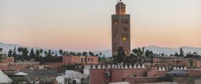 FS_marrakech_mosque at sunrise