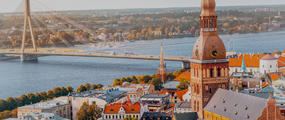 Riga Latvia City Landscape Hero TCSBNF-20