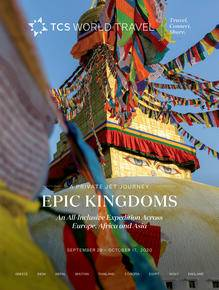 Brochure cover of Epic Kingdoms by Private Jet