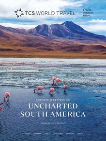 Uncharted South America brochure
